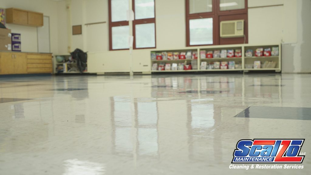 School Floor Tile Cleaning in New Jersey