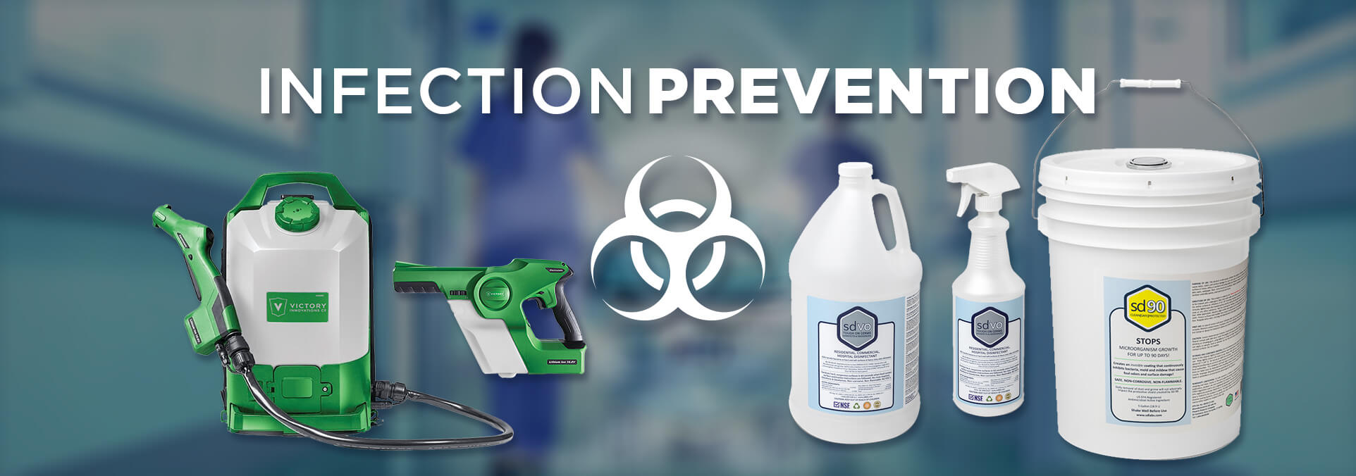Virus Protection, Safe Disinfectants