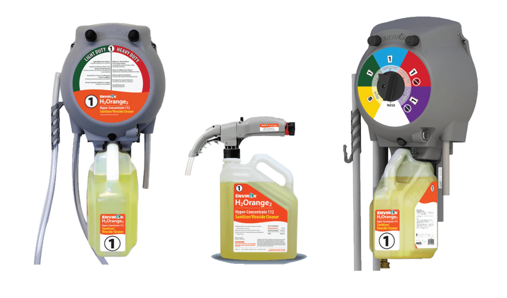 Commercial janitorial cleaning products